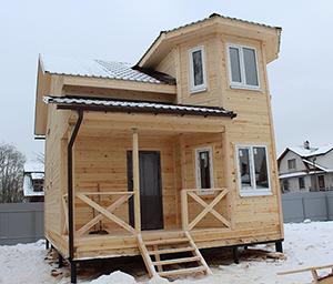 Дом из бруса Б-9 6х8 м