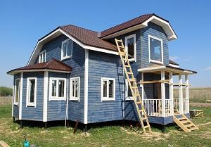 Каркасный дом К-17 9х9 м