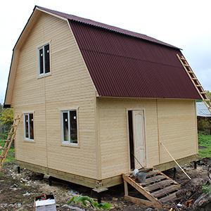 Дачный дом Д-10 (6х6м)