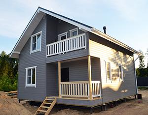 Мега дом 2 8×8 м