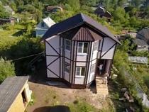 Каркасный дом проект К-42