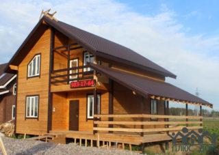 Мега Дом 1 8×9 м